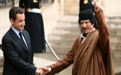 قذافی کے قتل میں سابق فرانسیسی صدر نکولس سرکوزی نے کردار ادا کیا، امریکی صحافی کا انکشاف