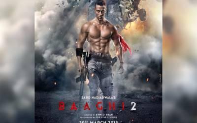 65کروڑ روپے سے بنائی گئی فلم' 'باغی 2'' نے200کروڑ کما لیے
