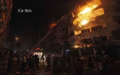 بھارت، 4 منزلہ عمارت میں آتشزدگی ، ایک ہی خاندان کے 4 افراد ہلاک