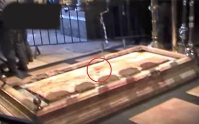 وہ جگہ جسے عیسائی حضرت عیسیٰ علیہ السلام کا مقبرہ کہتے ہیں، وہاں اچانک زمین سے کیا چیز نکلنا شروع ہوگئی؟ کھلبلی مچ گئی