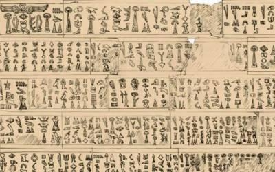 پتھر پر لکھی 3200 سال پرانی تحریر سائنسدان بالآخر پڑھنے میں کامیاب ہوگئے، اس پر کیا لکھا تھا؟ پڑھ کر سب دنگ رہ گئے کیونکہ۔۔۔