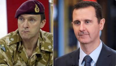 'شام میں بشارالاسد نے کیمیائی حملہ نہیں کیا کیونکہ۔۔۔' شام پر میزائلوں کی بارش کے بعد سابق برطانوی جنرل نے تہلکہ خیز بات کہہ دی، برطانیہ اور امریکہ کا پول کھول دیا