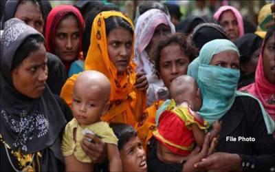روہنگیا پناہ گزینوں کے پہلے کنبے کی بنگلہ دیش سے وطن واپسی ،کارڈ اورخوراک فراہم