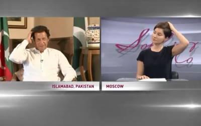 """""""میرے اور عمران خان میں یہ چیز تو مشترک ہے اور۔۔۔"""" عمران خان کا انٹرویو کرنے والی روسی حسینہ ان کے """"پیار"""" میں """"پاگل"""" ہو گئی، ایسی ویڈیو شیئر کر دی جو عمران خان کسی صورت بھی بشریٰ مانیکا کو نہیں دیکھنے دیں گے، سوشل میڈیا پر دھوم مچ گئی"""
