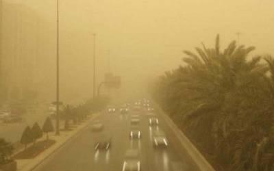سعودی عرب میں اچانک تمام نجی و سرکاری تعلیمی ادارے بند کردیئے گئے کیونکہ۔۔۔۔ایسا منظر کہ ہرشہری حیران پریشان رہ جائے