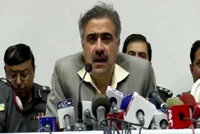 بچی کی لاش پر سیاست کی کوشش کی گئی ،مظاہرین کے خلاف ایکشن لیاجائےگا:وزیر داخلہ سندھ