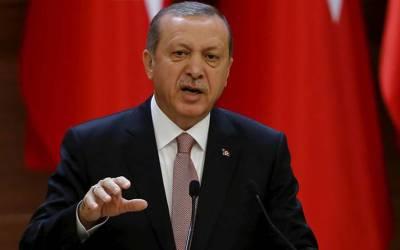 ترک صدر کا قبل از وقت ملک میں انتخابات کا اعلان