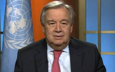 سلامتی کونسل کو متحد ہو کر شام میں کیمیائی ہتھیاراستعمال کرنےوالوں کو سزا دینی چاہیے،سیکریٹری جنرل اقوام متحدہ