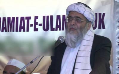 شاہد خاقان کی رخصتی کے بعد راحیل شریف نگران وزیراعظم بن سکتے ہیں: حافظ حسین احمد