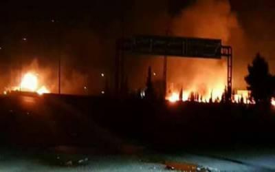 اسرائیل کا شام میں ایرانی اڈے پر حملہ، 9 فوجی ہلاک