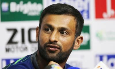 شعیب ملک کا گیانا کی ٹیم سے معاہدہ ،ون ڈے کرکٹ چھوڑنے کا اعلان کر دیا