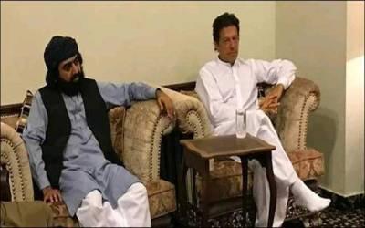 عمران خان کی پیرآف گولڑہ شریف سے ملاقات ،آئندہ عام انتخابات میں ملک بھر میں تحریک انصاف کی حمایت کا اعلان