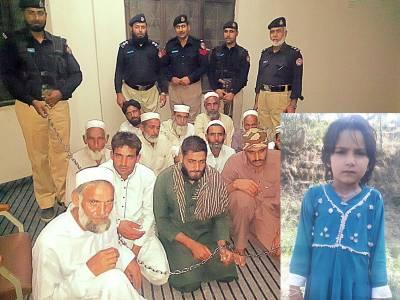 جرگہ نے صلح کیلئے 4 سالہ بچی کا نکاح نوجوان سے کرا دیا، نکاح خواں سمیت 13 گرفتار
