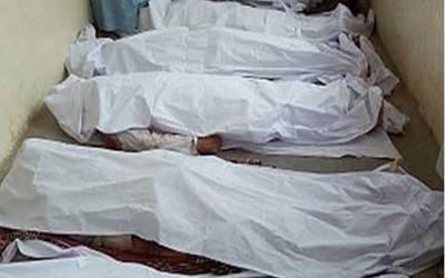 فیصل آباد:سنگدل باپ نے 3بچوں کو قتل کرکے خود کشی کر لی