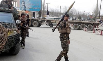 افغانستان میں طالبان کا حملہ، 2اہلکار وں سمیت 12ہلاک