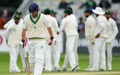 """آئرلینڈ نے تاریخی ٹیسٹ میچ جیتنے کیلئے پاکستانی ٹیم کو ہدف دیدیا، قومی ٹیم کو جیت کیلئے کتنے رنز درکار ہیں؟ ایسی خبر آ گئی کہ ہر پاکستانی بے اختیار کہہ اٹھے گا """"شاباش شاہینو!!!"""""""