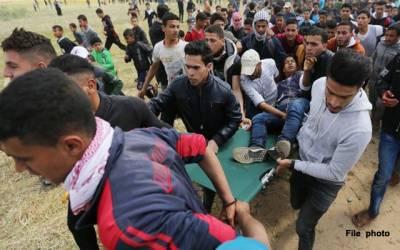 غزہ میں ہسپتال زخمیوں سے بھر گئے، مصر سے مدد کی اپیل