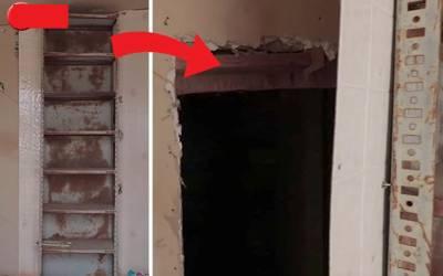 آدمی ویران پڑے گھر میں گھس گیا تو اس میں ایک سرنگ نظر آگئی، اندر جاکر دیکھا تو دوسری طرف کیا تھا؟ دیکھ کر ہوش اُڑگئے کیونکہ۔۔۔ ویڈیو نے انٹرنیٹ پر تہلکہ برپاکردیا