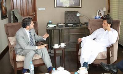 عمران خان سے نائب افغان وزیر خارجہ کی ملاقات ،خطے کی صورتحال پر تفصیلی تبادلہ خیال،حکمت کرزئی نے چیئرمین پی ٹی آئی کو دورہ افغانستان کی دعوت دے دی