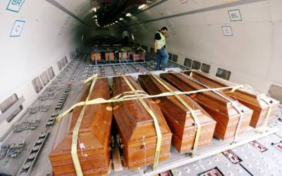 لیبیا نے 20 مسیحیوں کی سربریدہ لاشیں مصرکے حوالے کردیں