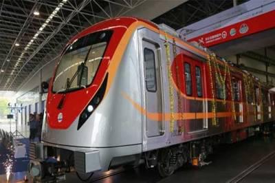 اورنج ٹرین کا آج ڈیرہ گجراں تا لکشمی چوک آزمائشی سروس کا آغاز ہوگا