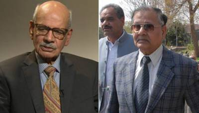 اصغر خان قتل کیس میں سابق آرمی چیف اسلم بیگ تحقیقاتی کمیٹی میں پیش