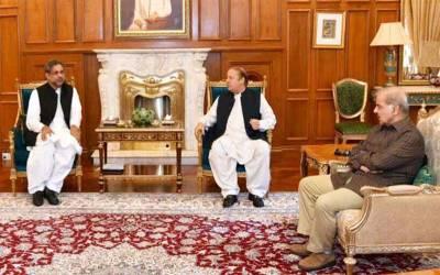 وزیراعظم اور وزیراعلیٰ پنجاب کی نواز شریف سے ملاقات، سیاسی صورتحال پر گفتگو