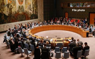 سلامتی کونسل کا خصوصی اجلاس،شہید فلسطینیوں کی یادمیں ایک منٹ کی خاموشی