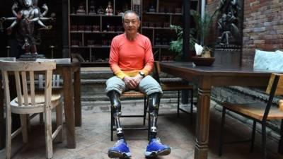 چین کے معذور کوہ پیما نے 40سال بعد ایورسٹ سر کر لیا
