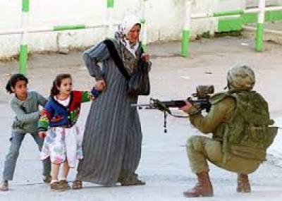 امریکی ایما پر فلسطینیوں کا قتل عام
