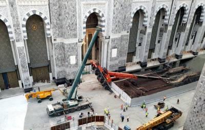 مسجد الحرام میں ایک مرتبہ پھر کرین گر گئی، رمضان المبارک میں انتہائی افسوسناک خبرآگئی