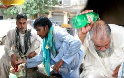کراچی:سبزی منڈی کے قریب ہیٹ سٹروک سے ایک شخص جاں بحق