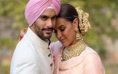 """""""تمہیں اس سے شادی نہیں کرنی چاہیے تھی ،بلکہ راکھی باندھنی چاہیے تھی کیو نکہ تمہاری ۔۔۔""""نیہا دھوپیا کی شادی پر بھارتی شہری نے ایسی بات کہہ دی کہ انٹر نیٹ پر طوفان برپا ہو گیا"""
