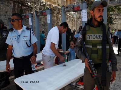 ماہ صیام میں بھی فلسطینیوں پر بیرون ملک اسرائیلی سفری پابندیاں برقرار