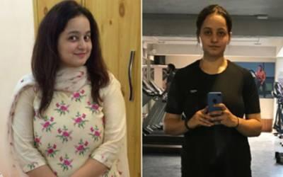 'اس ایک چیز سے انکار کرکے میں نے 25 کلو وزن کم کرلیا' نوجوان لڑکی نے وزن کم کرنے کا سب سے بہترین نسخہ بتادیا