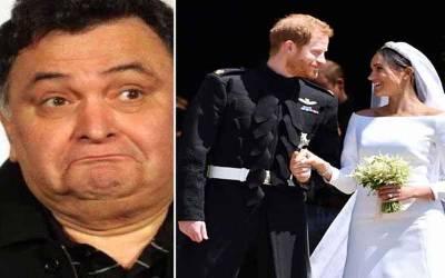پرنس ہیری اورمیگھن مارکل کی شادی سے متعلق رشی کپورکا دلچسپ ڈب میش