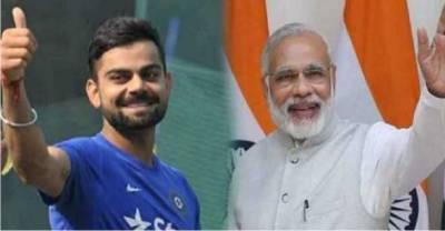 بھارتی وزیراعظم نریندرا مودی نے ویرات کو ہلی کا چیلنج قبول کرلیا، انتہائی دلچسپ خبرآگئی