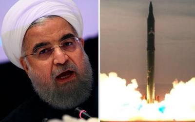 'ایران نے ایک ایسا میزائل بنالیا ہے جو۔۔۔' ایسا انکشاف منظر عام پر کہ امریکہ اور اسرائیل سمیت پوری دنیا میں کھلبلی مچ گئی