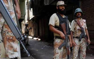 پولیس اور رینجرز کا حیدر آباد کےمختلف علاقوں میں سرچ آپریشن، 18 سے زائد مشتبہ افرادگرفتار
