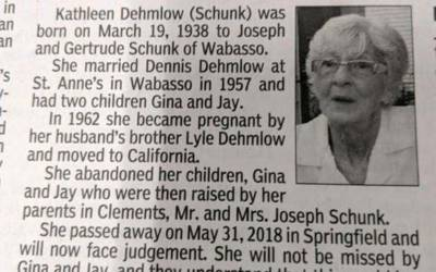 'اچھا ہوا مرگئی، اس نے یہ شرمناک ترین کام کیا تھا کہ۔۔۔' 80 سالہ خاتون کی موت کے بعد اس کے بچوں نے اخبار میں ایسا پیغام جاری کردیا جس کی تاریخ میں کوئی مثال نہیں