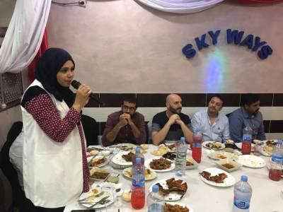 ٹیکسی گروپ بارسلونا کا پہلی مسلمان کتالان ممبر پارلیمنٹ کے اعزاز میں افطار ڈنر