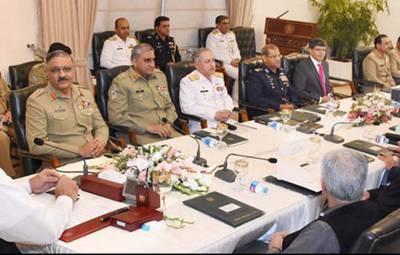 نگراں وزیراعظم کی زیرصدارت قومی سلامتی کمیٹی کاپہلا اجلاس، تینوں مسلح افواج کے سربراہان شریک