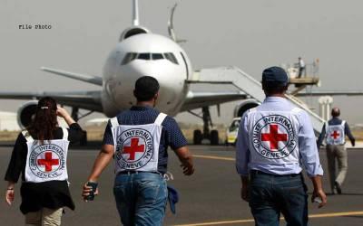 ریڈکراس نے جنگ زدہ یمن سے اپنے عملہ کے 71 ارکان کو تحفظ کے پیش نظر واپس بلا لیا