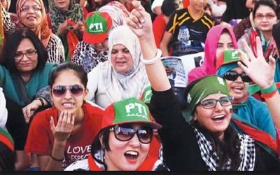 نوجوانوں اورخواتین کے حقوق کی علمبردار تحریک انصاف نے 50فیصد سے زائد ٹکٹس عمر رسیدہ افراد کو جاری کردیئے ، خواتین نظر انداز
