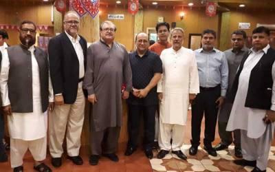 پاکستان بزنس کمیونٹی کے صدر اور سماجی رہنماء ابوبکر میمن اور ڈاکٹر طارق یوسف میمن کی جانب سے ایک پروقار افطار و ڈنر کا اہتمام