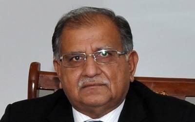 سابق وفاقی وزیر ریاض پیرزادہ کے ڈیرے پر فائرنگ ، ایک شخص زخمی