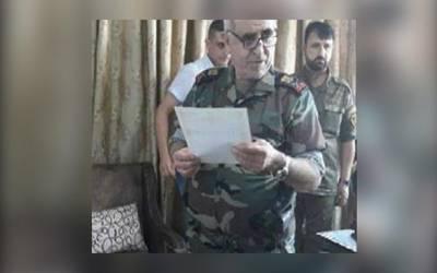 اسد رجیم کی فضائی انٹیلی جنس کے ڈائریکٹر جمیل حسن کے بین الاقوامی وارنٹ جاری