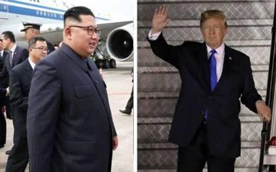 امریکی صدر اور شمالی کوریا کے سربراہ تاریخی ملاقات کیلئے سنگاپور پہنچ گئے