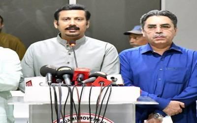 ایم کیو ایم رہنماؤں عامر خان اورفیصل سبزواری کاالیکشن نہ لڑنے کا اعلان