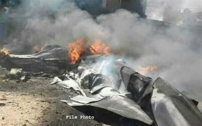 جاپان کے ساحل پرامریکی لڑاکاطیارہ F-15گرکر تباہ